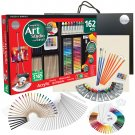 Daler-Rowney Simply 162-Piece Complete Art Studio Art Kit with Easel and Canvas