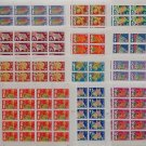 Set of All 12 US Chinese Lunar New Year MINT Sheets USPS First Class Postage stamps