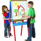 Cra Z Art 3 In 1 Kids Young Artist Easel fun Place to Draw paint Doodle New Gif