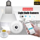 Panoramic Bulb Light 1080P Hidden IR Camera Wifi FishEye CCTV Security 360degree