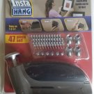 INSTA HANG AS SEEN ON TV PICTURE FRAME HANGING WALL TOOL 47 PIECE SET 10 LB