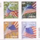 USPS SHEET of Forever Stamps booklet of 20 US Flag Postage Stamps A Flag for all Seasons