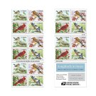 USPS SHEET of x20 Songbirds in Snow Stamps Double Sided Pane of 20 - 2016