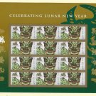 USPS SHEET of USA Chinese (Lunar) New Year - 10 sheets