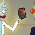 McDonald's Rick And Morty Szechuan Sauce Black and Red Food and Drink