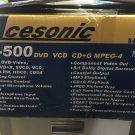 Acesonic DGX -500 5 Tray DVD/MP4/CD+G Karaoke Player