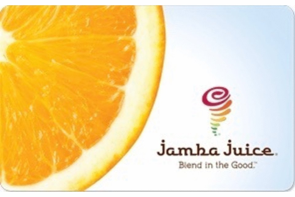 Jamba Juice $50 Gift Card Discount 100 Drinking store