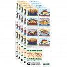 Delicioso Book of 20 USPS one-ounce rate Forever Postage Stamps Latin Food Traditional