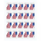 USPS SHEET of 20 US Flag First Class Postage Forever Stamps Booklet + SAME DAY 2018