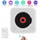 CD Player with Bluetooth, Portable CD Player Wall Mountable, Remote Control, FM