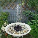 NEW Pumps Design Solar Power Pump, Bird Bath Fountain Brushless For Garden