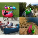 New Style Inflatable Lounger Air Chair Sofa Bed Lazy Bag Sofa Been Sleeping Sand Beach Lay Bag Couch