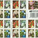 USPS Forever Stamps Flowers From The Garden WEDDING Valentine's Day, 20 Piece