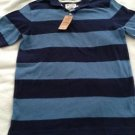 New URBAN PIPELINE Polo Blue Stripe Short Sleeve Older Boys Size XL