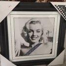 Marilyn Monroe Smiling Framed Mounted Print Memorabilia Black Frame Frank Worth