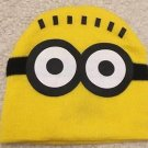 MINIONS Yellow Beanie Cap Hat Children's Despicable Me NEW