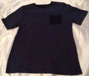 Urban Pipeline Brand Blue Short Sleeve Pocket T-shirt Older Boys Sz XL Nice!