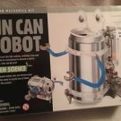 4M Green Science Tin Can Robot Fun Mechanics Kids Project Kit USA Seller