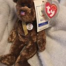 Ty Beanie Babies FIFA World Cup Champion Bear Retired 2002 U.S.A. USA Flag Nose