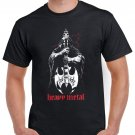 Heavy Metal T-shirt Devil Guitar Cool Tshirt Music Festival Top Tee