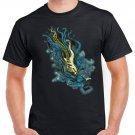 Hard Rock Blue Guitar Sound T-shirt Heavy Metal Cool Tshirt Festival Top Tee
