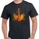 Hard Rock T-shirt Guitar Cool Music Tshirt Festival Top Tee