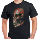 Heavy Metal Skull Skeleton T-shirt Gothic Cool Tshirt Music Festival Top Tee