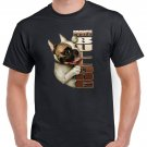French Bulldog T-shirt Dog Lovers Cool Tshirt Unisex Top Tee