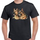 German Shepherd Hairy Dogs T-shirt Dog Lovers Cool Tshirt Unisex Top Tee