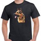 German Shepherd T-shirt Dog Lovers Cool Tshirt Unisex Top Tee