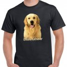 Golden Retriever Dog Short Sleeve Gildan Labrador T-shirt Cool Men Top Tee