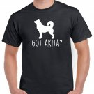 Got Akita? T-shirt Dog Lovers Tshirt Cool Unisex Top Tee