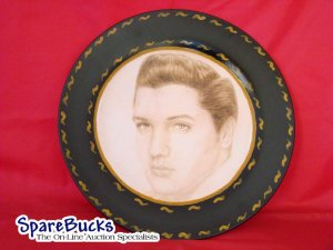 NEW Elvis Presley Decoupage Plate Limited Edition
