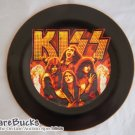 NEW KISS 'Flames' Decoupage Plate Limited Edition