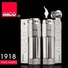 IMCO original global steel gasoline lighter,Vintage blue kerosene lighter,Cool logo lighters tr
