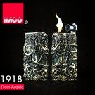 Original IMCO dragon metal gasoline lighters,High-grade cigarette  Briquet BC291
