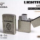 Original Che Guevara COHIBA Tool Pocket Size Gloss Yellow Metal Butane Gas Windproof 3 Torch Fl