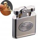 HONEST oil cigarette lighter.Vintage metal old kerosene smoking lighter,Classical men's cig