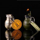 Men's Military army creative style metal key chain wheel flame Gas lighter  BC663