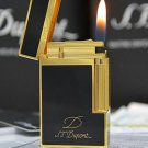 S.T Memorial Dupont lighter Bright Sound!  In Box Serial number TH1 BC696