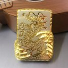 windproof lighters two golden dragon claw BC786