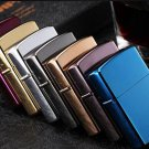 10pcs/lot Windproof  classic Metal Oil Cigarette lighter Smoking Fuel Lighters Kerosene LIGHTER