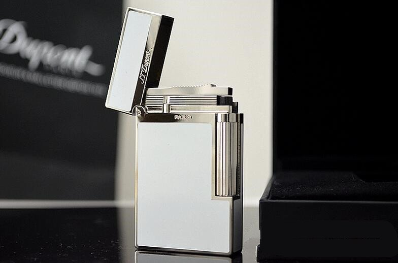 2016  style lighter S.TDupont  S.T Memorial Dup0nt lighter Say gas lighters!  In Box! A001 BC813