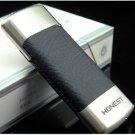 HONEST wheel butane gas lighter,Slim metal cigarette lighter BCZ307-2 BC867