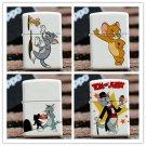 Cartoon cat and mouse kerosene lighter smoking mini pocket lighter BC932