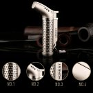 Honest Waterproof Metal Stainless Steel Jet Flame Cigarette Cigar Butane Gas Refillable Lighter