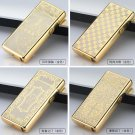 1pcs Multicolor Cigarette lighter Electric Arc Windproof Rechargeable Flameless No Gas Metal US