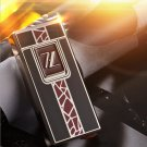 The double plating gold silver flameless cigar no gas birthday lighter electric arc anniversary
