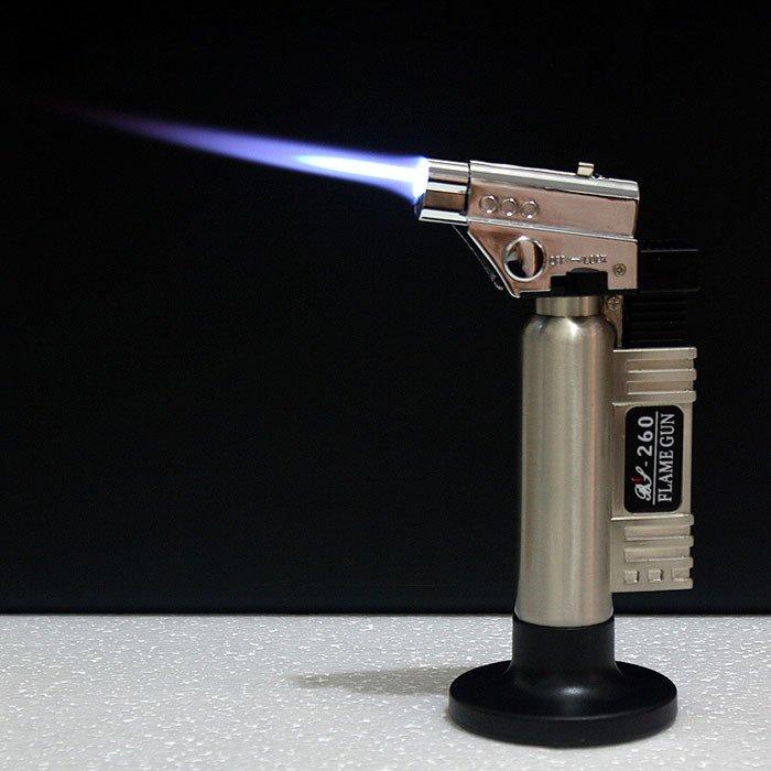 BBQ 2 Modes Flame Dental Butane Gas Lighter Torch Burner Lighter Windproof Cigarette Cigar Smok