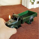 Excavator driver present cigaret lighter trucks model creative transporter adorments crafts met